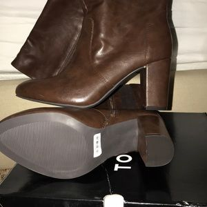 Torrid Brown Faux Leather Boot